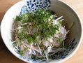 鯛の韓国風香味野菜和え(file349)